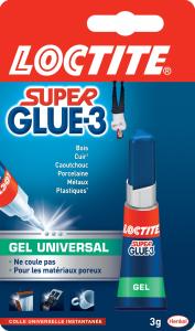 Colle - Loctite - Superglue  3 - Gel universal - 3 g