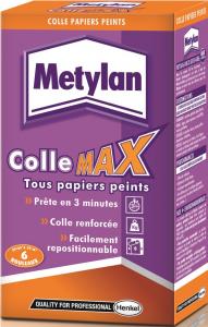 Colle Max - Metylan - Pour tous papiers peints - 200 g