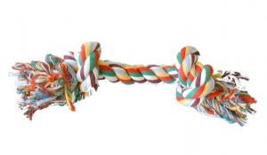 Jouet corde 2 noeuds  - 26 cm