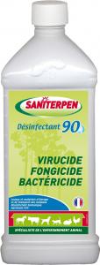 Désinfectant 90 Saniterpen 1 L - Virucide, fongicide, bactéricide