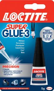 Colle - Loctite - Superglue 3 - Précision - 5 g