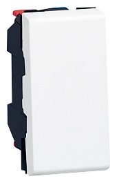 Poussoir Mosaic - Le Grand - Blanc - 1 module