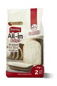 Farine All-in Budget pour pain blanc - Soezie - 1 kg