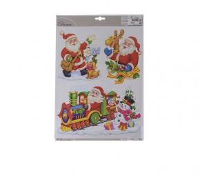 Stickers 3 activités du Pères Noël - 29X 41 cm