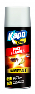 Anti-puces et larves - Kapo - Aérosol foudroyant - 400 ml