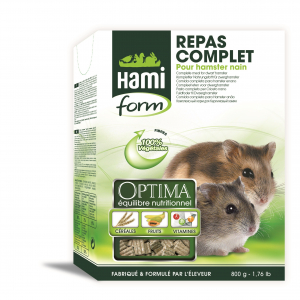 Repas complet pour hamster nain - Hami Form - 800 Gr