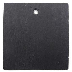 Etiquette carrée en ardoise - Comptoir Botanique - 9.5 x 9.5 cm