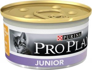 Pâté individuelle pour chaton Junior - Proplan - poulet - 85 gr