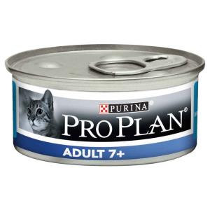 Pâté individuelle pour chat adult 7+ - Proplan - thon - 85 gr
