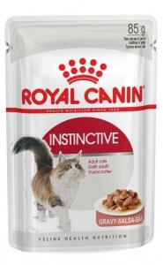 Émincés en sauce pour chat - Royal Canin - Instinctive Adulte - 85 g
