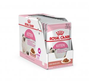 Émincés en sauce pour chaton - Royal Canin - Kitten - 12 x 85 g