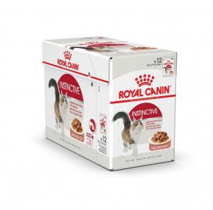 Émincés en sauce pour chat adulte - Royal Canin - Instinctive - 12 x 85 g