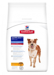 Aliment chien Science Plan Canine Mature Adult 7+ Medium au Poulet - Hill's - 12 Kg