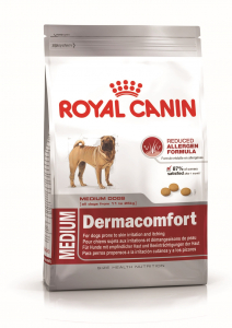 Croquettes pour chien - Royal Canin - Medium Dermaconfort - 10 kg