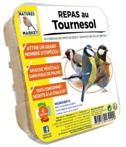 Repas au tournesol pour oiseaux - Natures Market - 315 gr