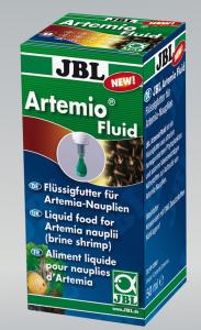 Aliment liquide pour Nauplies d'Artémia - Artémio Fluid - JBL - 50 ml
