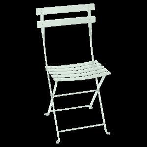 Chaise pliante Bistro - Fermob - Métal - Menthe glaciale