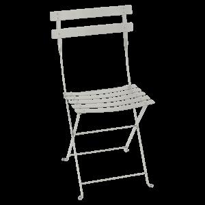 Chaise pliante Bistro - Fermob - Métal - Gris argile