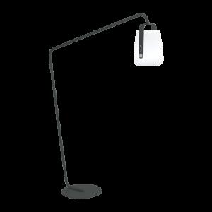 Pied déporté pour lampe Balad - Carbone- Fermob