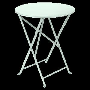 Table pliante Bistro ?60 cm - Fermob - Métal - Menthe glaciale