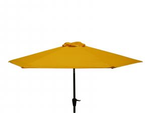 Parasol à manivelle - Ø250 - Curcuma