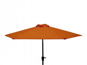 Parasol à manivelle - Ø250 - Paprika