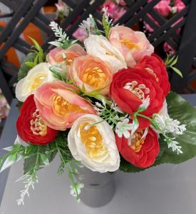 Bouquet de renoncules - Artificiel