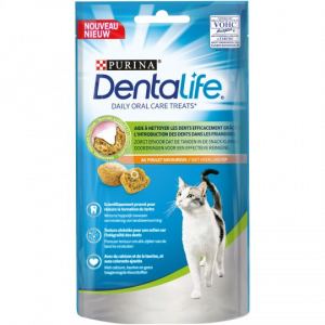 Friandises Dentalife pour chat - Poulet- 40 g - Purina