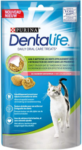 Friandises Dentalife pour chat - Saumon- 40 g - Purina