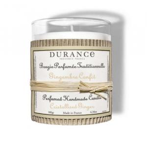 Bougie parfumée Gingembre confit - 180 g - Durance