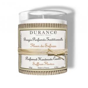 Bougie parfumée Fleur de safran - 180 g- Durance