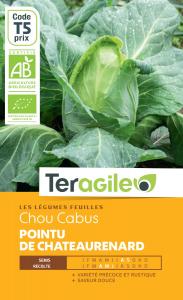 Chou cabus de Châteaurenard bio - 0.5g - Teragile