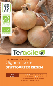 Oignon stuttgarter riesen bio - 1g - Teragile