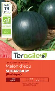 Melon d'eau sugar baby bio - 1.3g - Teragile