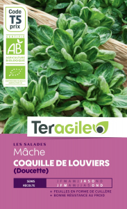 Mâche coquille de louviers bio - 4g - Teragile