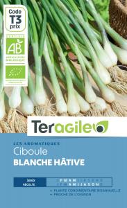 Ciboule blanche hâtive bio - 3g - Teragile