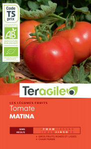 Tomate matina bio - 0.5g - Teragile