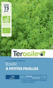 Basilic à petite feuilles bio - 1g - Teragile