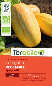 Courge vegetable spaghetti bio - 2.5g -Teragile