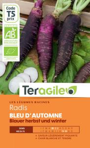Radis bleu d'automne bio - 5g - Teragile