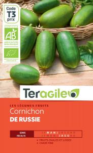 Cornichon de russie bio - 1g - Teragile