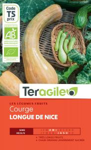 Courge longue de nice bio - 3g - Teragile