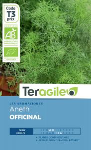 Aneth officinal bio - 3g - Teragile