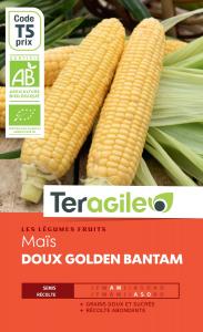 Maïs doux golden bantam bio - 14g - Teragile