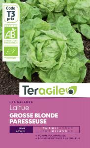 Laitue grosse blonde paresseuse bio - 0.4g - Teragile