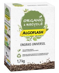Engrais granulés universel 100% végétal- Algoflash - 1,7KG