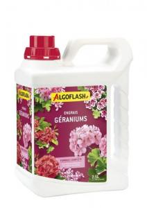 Engrais Géraniums - Algoflash -2,5 L