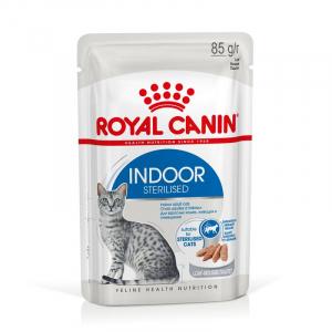 Lot émincés en mousse Indoor - Royal Canin - 12 X 85 g - 1 + 1 boîte à -60%