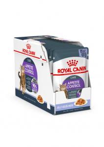 Lot émincés en gelée Appetite Control -Royal Canin - 12 X 85 g - 1 + 1 boîte à-60 %