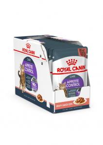 Lot émincés en sauce Appetite Control -Royal Canin - 12 X 85 g - 1 + 1 boîte à-60 %